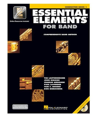 Hal Leonard ESSENTIAL ELEMENTS FOR BAND – CONDUCTOR BOOK 1