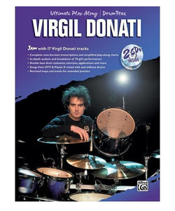 Alfred Music ULTIMATE PLAY ALONG DRUM TRAX: VIRGIL DONATI /CD