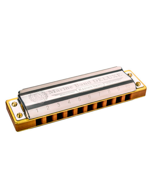 Hohner Armónica Re Bemol Mayor M200502X Marine Band Deluxe