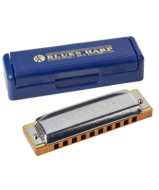 Hohner Armónica Diatónica Si Mayor M533126 Blues Harp