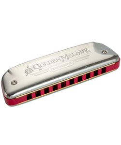 Hohner Armónica La Mayor M542106X Golden Melody