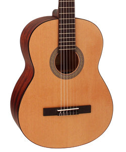 Cort Guitarra Acústica Natural Mate AC100DX OP Classic Series