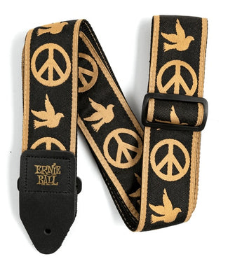 Ernie Ball Tahalí Jacquard 4613 Peace Love Dove