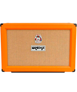 "Orange Bafle Para Guitarra Eléctrica 120W 2x12"" Recto PPC212"