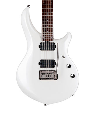 Sterling by Music Man Guitarra Eléctrica Blanco Aperlado Con Funda MAJ100X-PWH Majesty