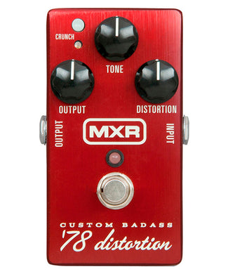 Dunlop MXR Pedal Distorsión M78 Custom Badass 78 Distortion