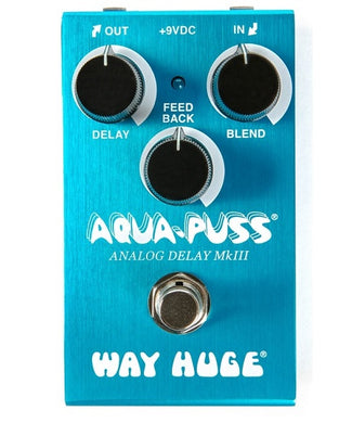 Dunlop Way Huge Pedal de Efecto WM71 Mini Aqua Puss