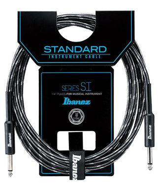 Ibanez Cable 3.05Mts Negro/Gris SI10-CCT Recto/Recto