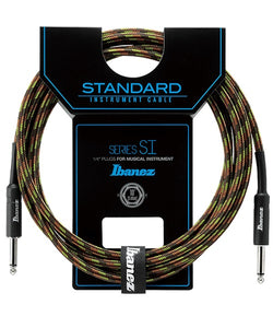 Ibanez Cable 3.05Mts Negro/Verde SI10-CGR Recto/Recto