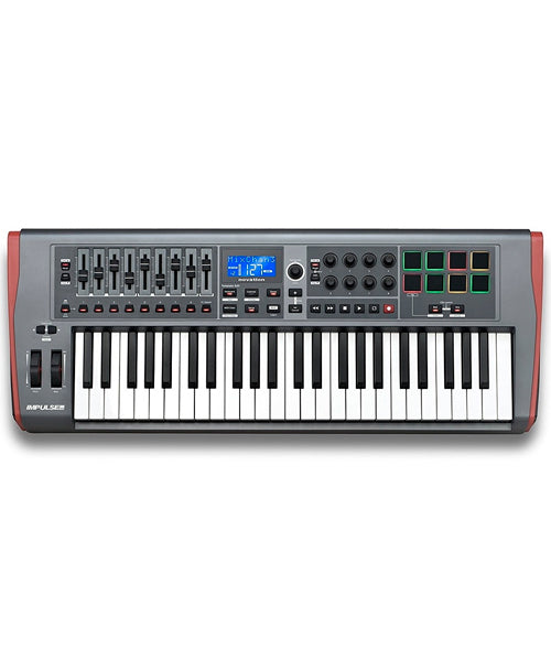 Novation Teclado Controlador NOVIMP49 Impulse 49