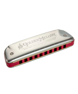 Hohner Armónica Diatónica Re Mayor M542036X Golden Melody