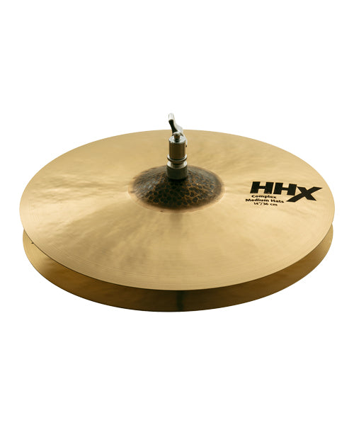"Sabian Platillo HHX Complex 14"" 11402XCN Medium Hats"