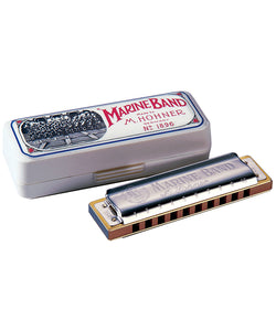 Hohner Armónica Diatónica Re Menor Natural M1896436 Marine Band