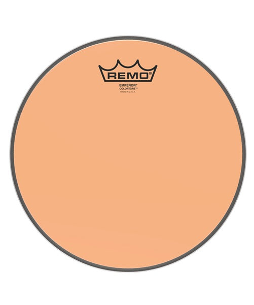 "Remo Parche 15"" BE-0315-CT-OG Emperor Colortone Anaranjado"