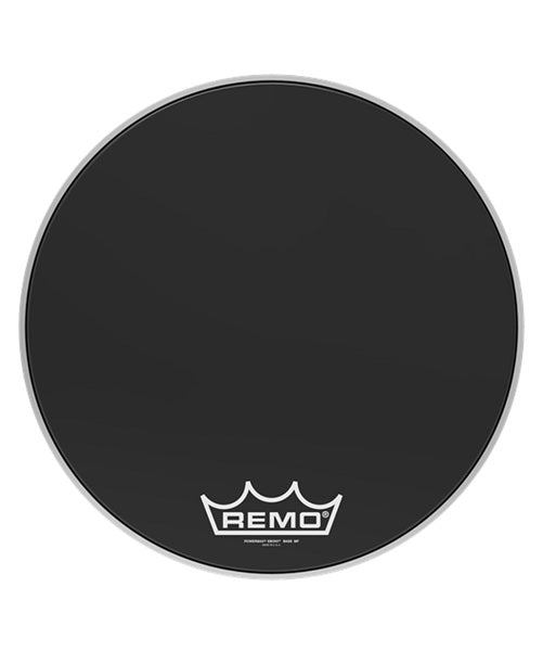"Remo Parche 26"" PM-1426-MP Powermax Ebony"