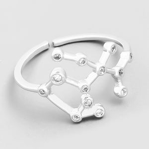 Sagittarius Constellation Ring - Melonope