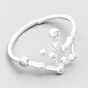 Aquarius Constellation Ring - Melonope
