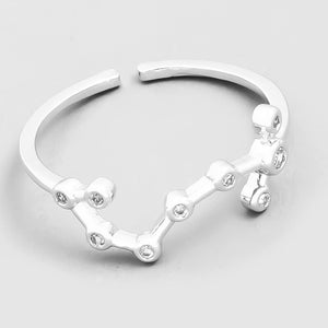 Scorpio Constellation Ring
