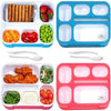 Lunch Box for Adults & Kids 2-Pack