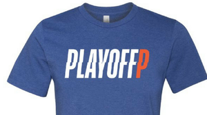 Playoff P Blue T-Shirt