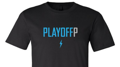 Playoff P Black T-Shirt