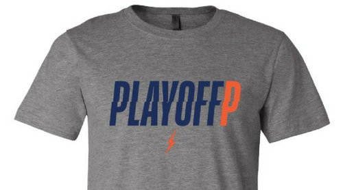 Playoff P Grey T-Shirt