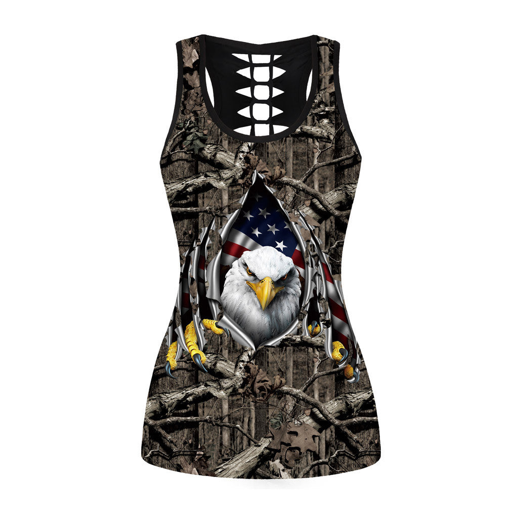 WOMEN'S EAGLE CAMO DESIGN TANK TOP (DIFFERENT SIZES AVAILABLE)