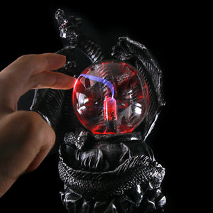 MEDIEVAL DRAGON ELECTRIC PLASMA BALL