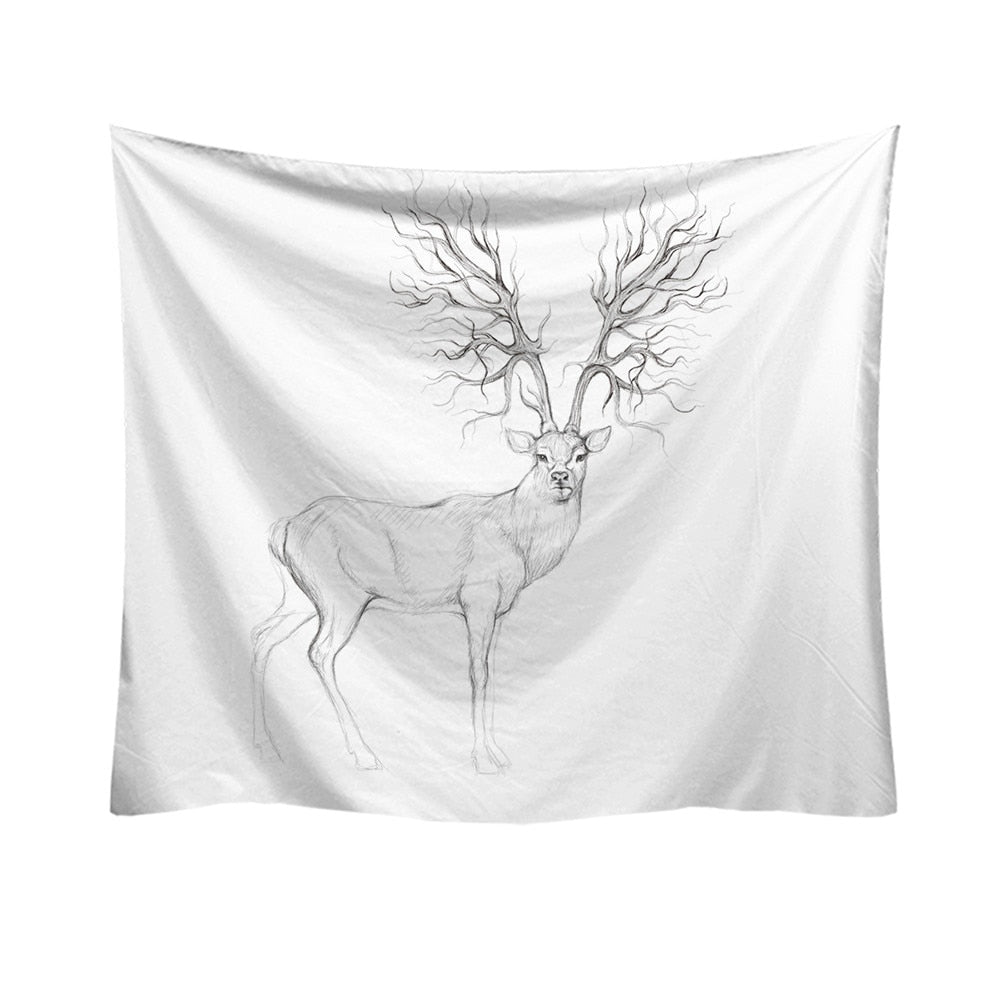 DEER PATTERN TAPESTRY (DIFFERENT VARIETY)