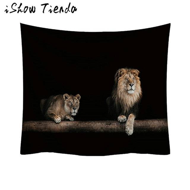 NEW AGE/ NATURE/ LION/ WORLD TAPESTRY ( DIFFERENT DESIGNS)