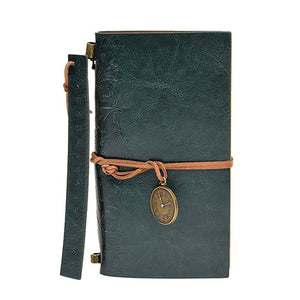 LEATHER BOUND BLANK PAGE JOURNAL