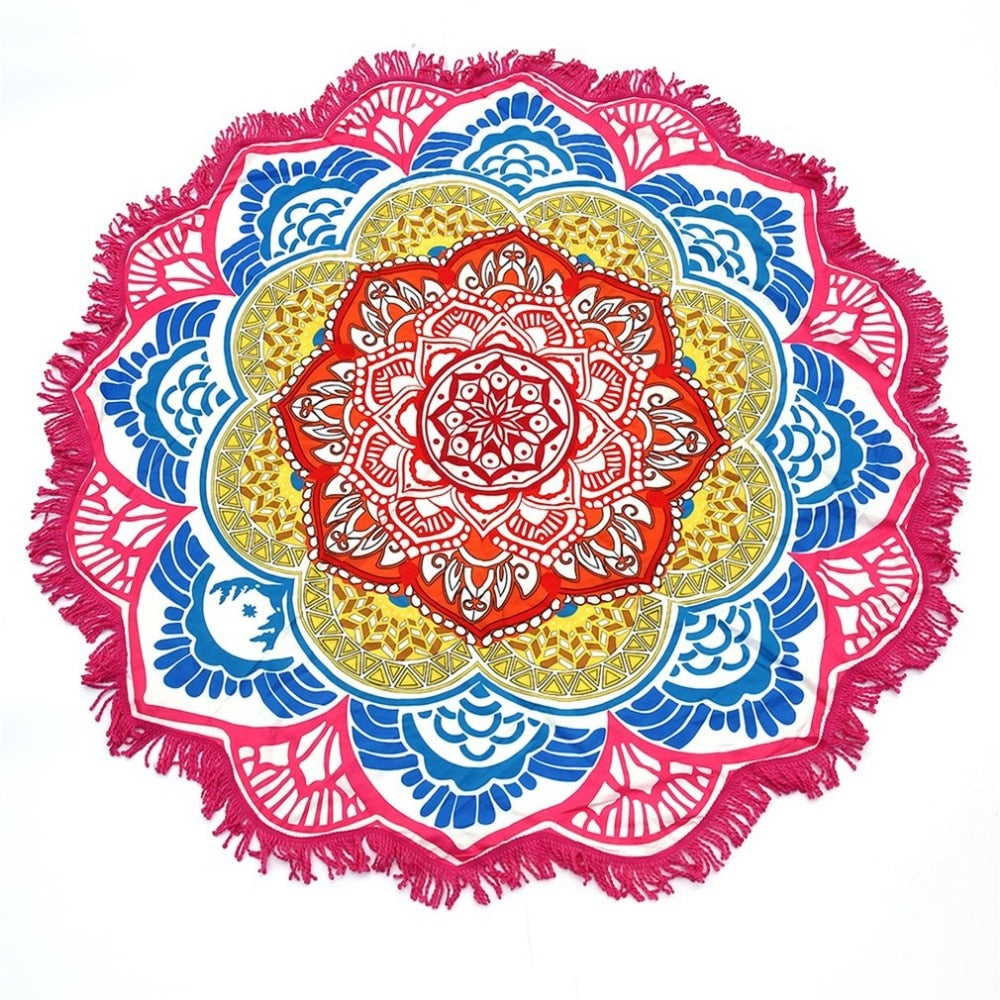 ROUND YOGA MAT (DIFFERENT COLORS AVAILABLE)