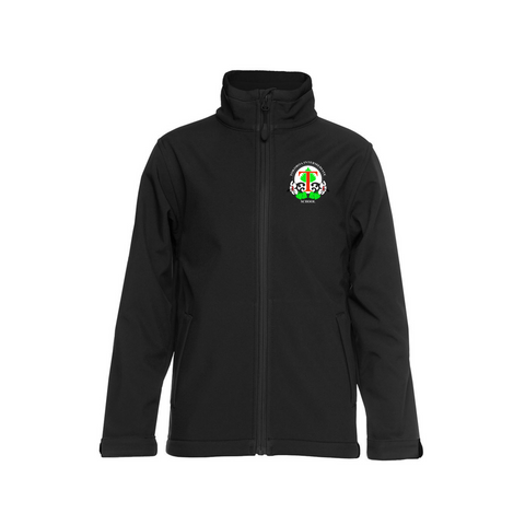 Tokoroa Intermediate Kids Soft Shell Black Jacket