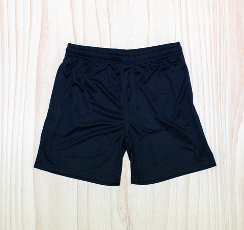 Excellere College Black PE Shorts