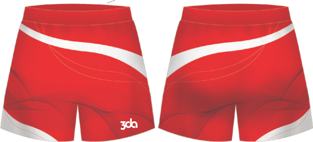 Sublimated Football Shorts