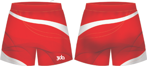 3DA Sublimated Hockey Shorts