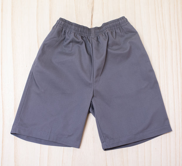 Whangarei Boys High School Grey ELASTIC Shorts