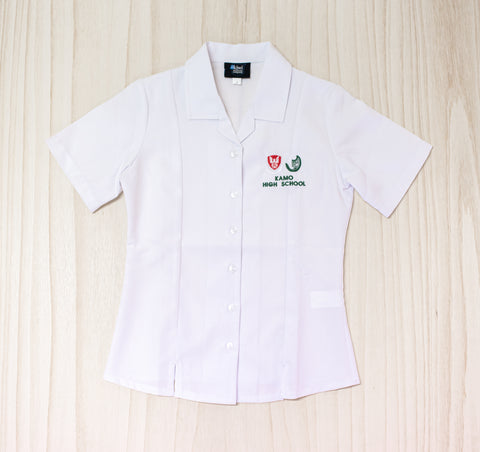 Kamo High School Girls White Blouse