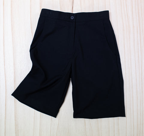Kamo Intermediate Girls Black Shorts
