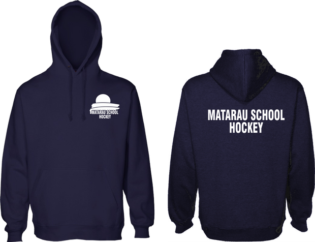 Matarau School HOCKEY Kids & Adults Hoodie