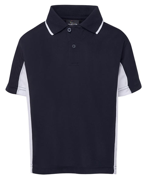 Kids Contrast Polo 7PP3