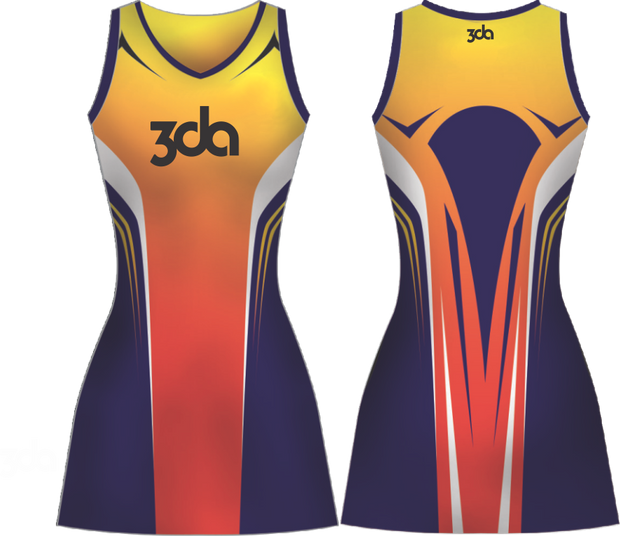 3DA Sublimated Hockey Dress