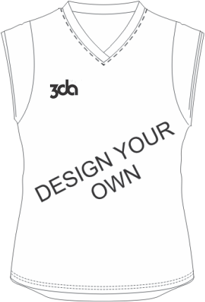 3DA Sublimated Womens Hockey Shirts