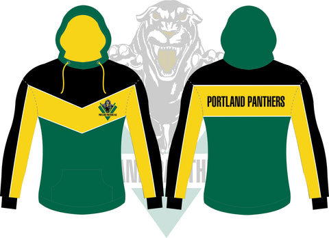 Kids Portland Panthers Cut n Sew Fleece Hoodie