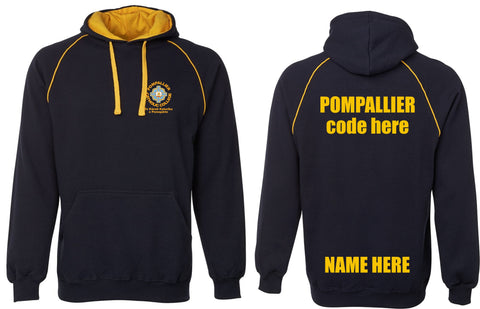 Pompallier College Contrast Hoodie