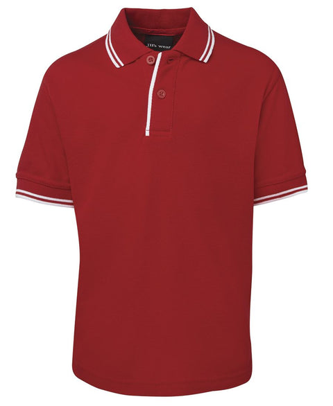 Kids Contrast Polo 2KCP