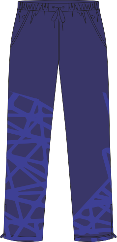 3DA Sublimated Tracksuit Pants