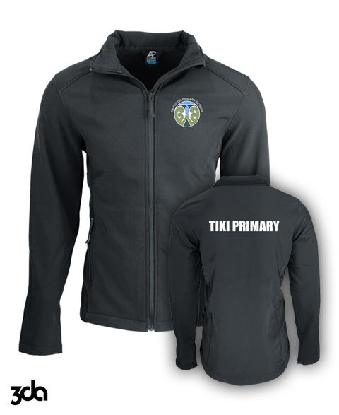 Softshell Jacket  |  Tikipunga Primary School