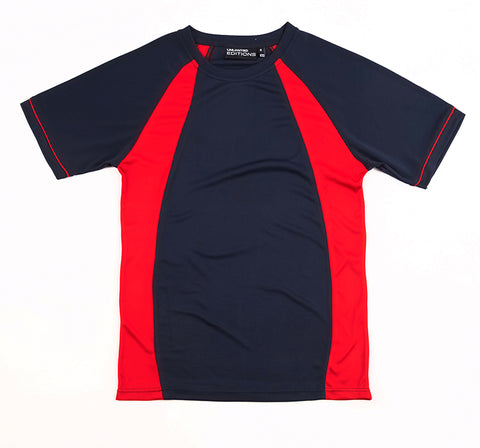 Navy/Red Tee