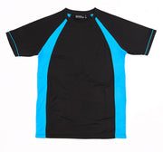 Black/Pacific Blue Tee